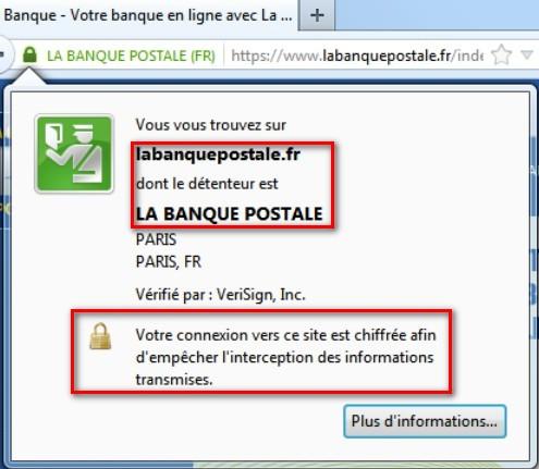 particuliers la banque postale identification